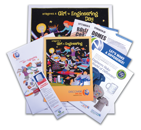 FREE 2016 Introduce A Girl to Engineering Day Kit!
