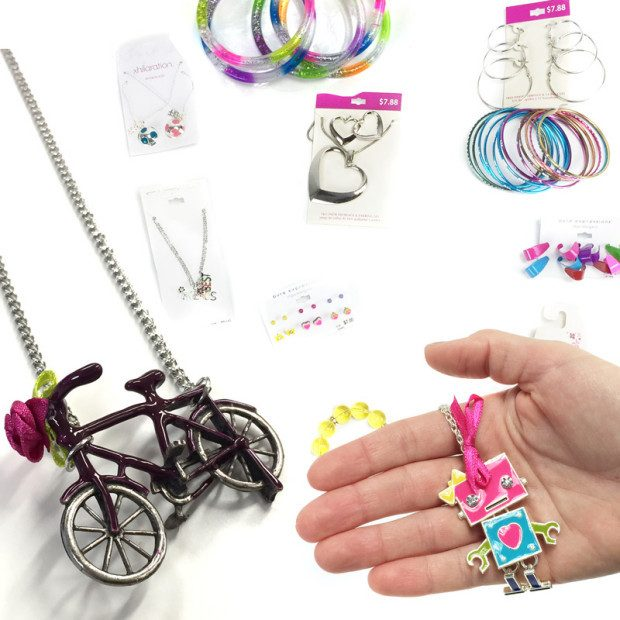 Assorted 8 Piece Set of Young Girl's Jewelry Only $15.99 Ships FREE!