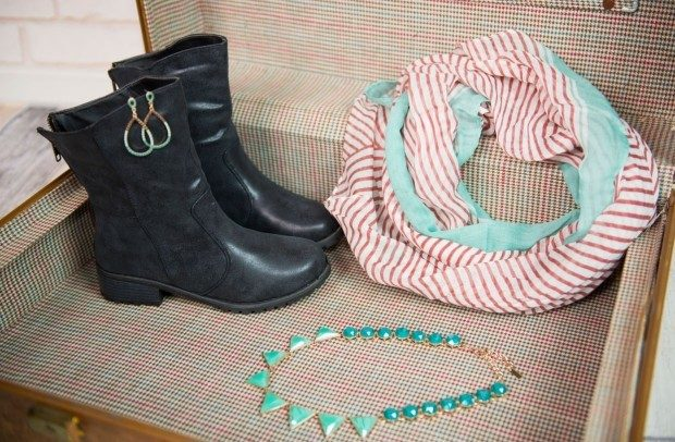 Grab Bag of Boots, Scarf & 2 Accessories Just $24.99!