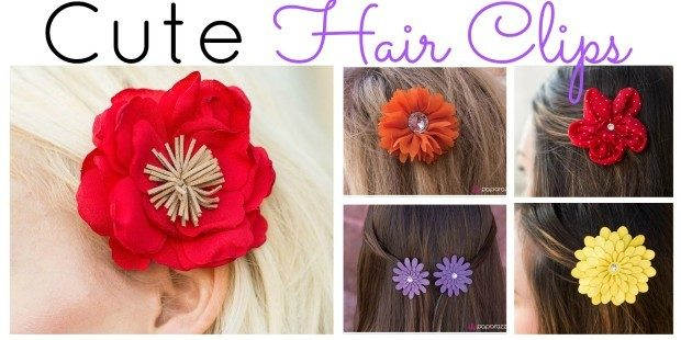 Cute Hair Clips for $5!