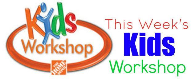 FREE Home Depot Kids Workshop (7/4 Only)!