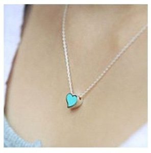 Set of 3 Heart-Shaped Necklaces ONLY $4.50 SHIPPED!