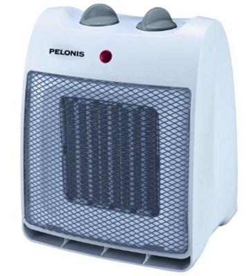 Pelonis NT20-12D Ceramic Safety Furnace, 1500-watt, White Just $13 Down From $28!