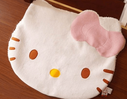 Hello Kitty Fuzzy Floor Cushion Mat Pad Just $8.17 Down From $15!  FREE Shipping!