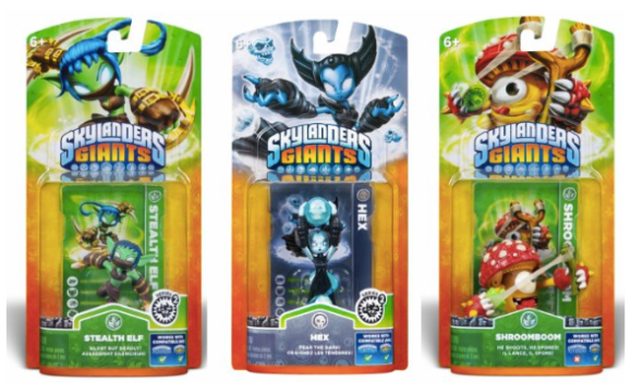 Skylanders Giants Single Character Packs Only $3.99 + FREE Prime Shipping (Reg. $10)!