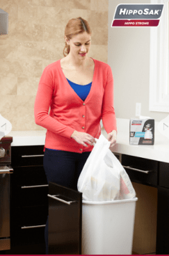 FREE Hippo Sak Trash Bags Sample!