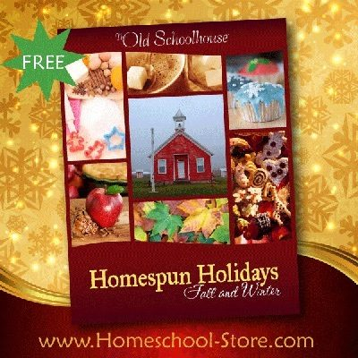 FREE Homespun Holidays: Fall & Winter eBook!