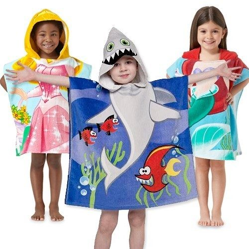 100% Cotton Hooded Towel for Boys & Girls Just $9.99 Ships FREE!
