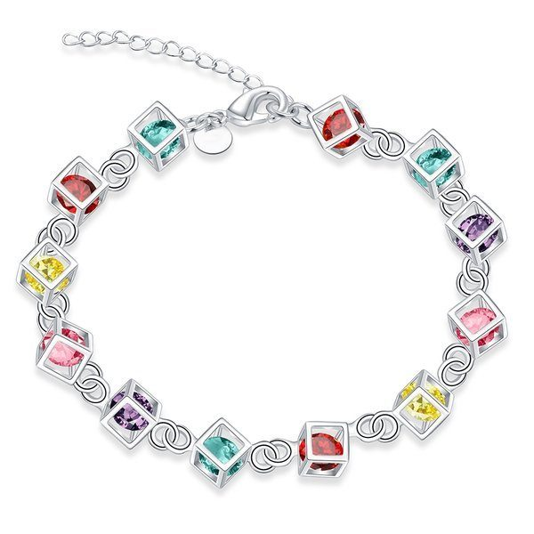 FREE Rainbow Colored Rubix Cube Sterling Silver Charms! Down From $99.99!