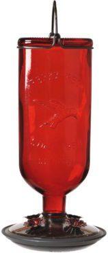 Antique Glass Bottle Hummingbird Feeder $14.95! (Reg. $22)