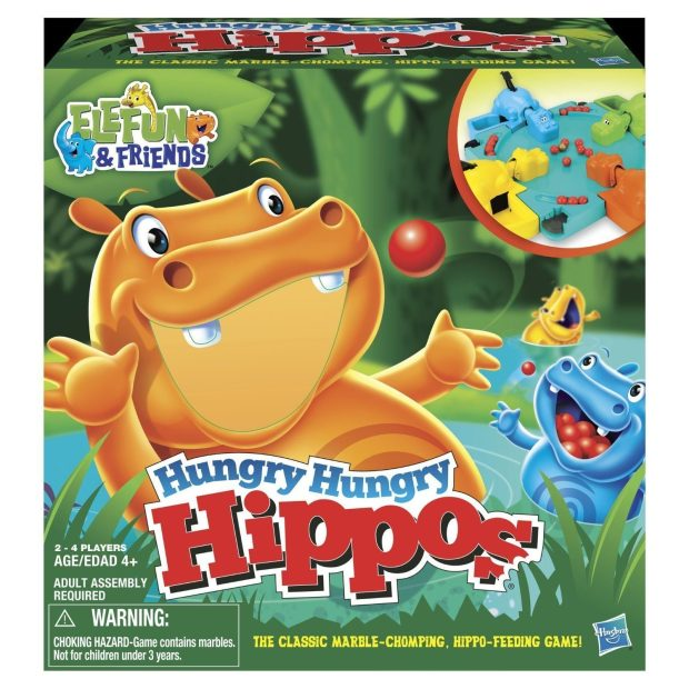 Hungry Hungry Hippos Only $5! (Reg. $22!)