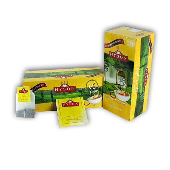 FREE Hyson Tea Sample!