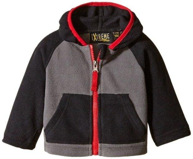 iXtreme Baby Boys' Color-Block Fleece Jacket Only $2.79!