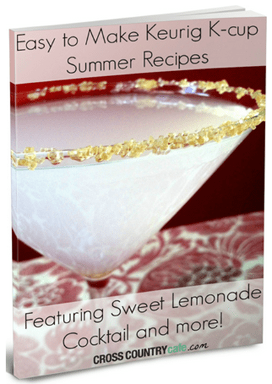 FREE Easy To Make Keurig K-Cup Summer Recipes eBook!