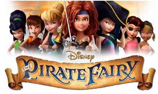 FREE Disney The Pirate Fairy Printables!