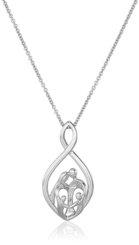Parents & Children Infinity Pendant Necklace Only $24.04! (Down From $75!)