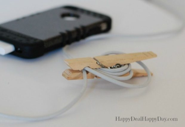 8 Clever Ways A Clothespin Will Make Your Life Easier!