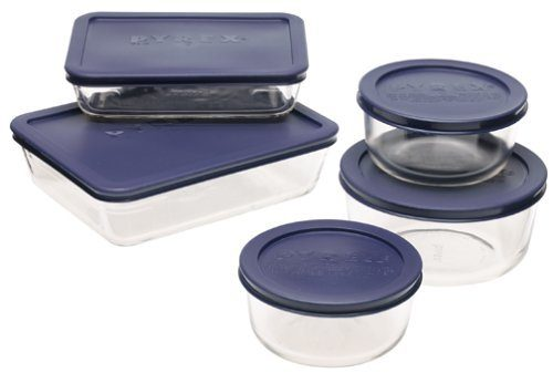 Pyrex Simply Store 10-Piece Glass Food Storage Set Only $14.39!  (Reg. $23)