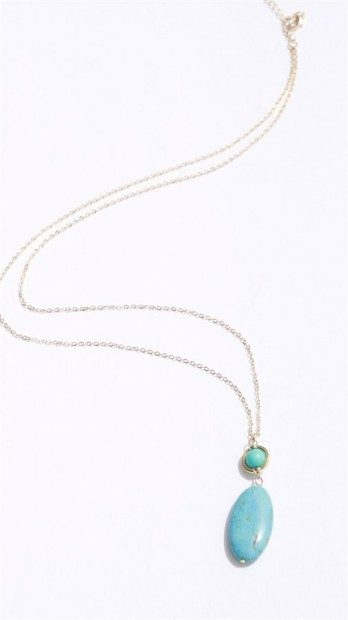 Turquoise Layer Necklace Only $6.99 At Jane!