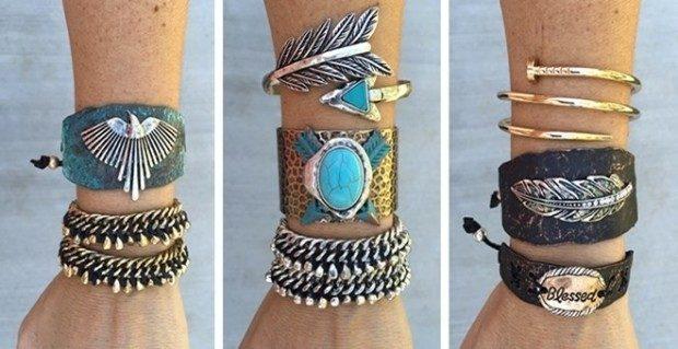 PennyLuna - Cowgirl, Gypsy or Boho Girl Bracelets Only $8.99!