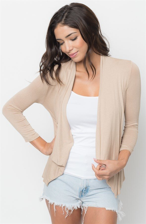 Shawl Collared Lightweight Cardigan Only $12.99 At Jane!