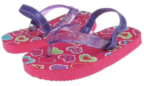 Glitter Jelly Toddler Girls Flip Flops Only $4.99!