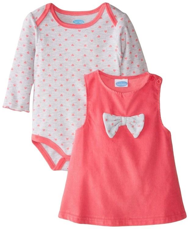 Baby-Girls Corduroy Jumper Set Starts At $5.28!  (Reg. $22)