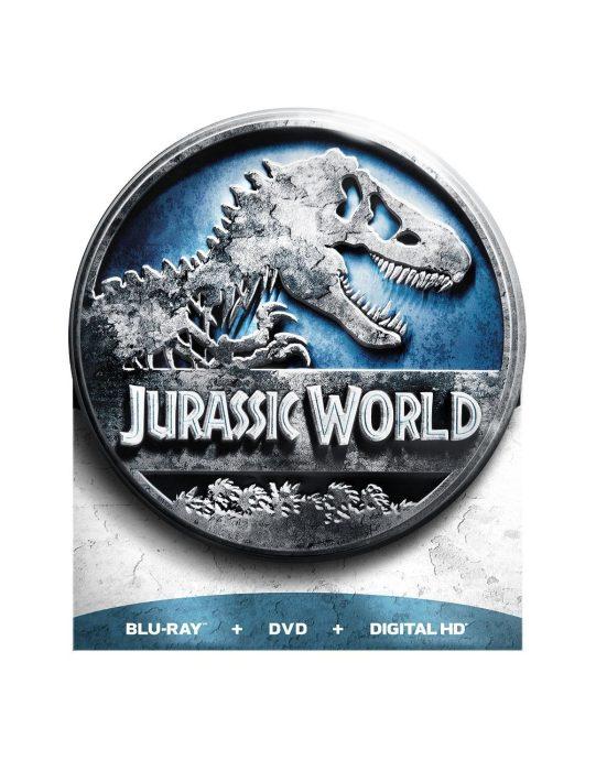 Jurassic World (Limited Edition) (Blu-ray + DVD + Digital HD) Was $35 Just $10!