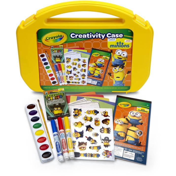 Ultimate Art Case with Markers, Paint, Crayons, Coloring Pages and Stickers Just $7.97! Down From $12.97