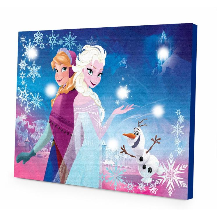 Disney Frozen LED Light Up Canvas Wall Art Just $9.98 Down From $29.98 At Walmart!