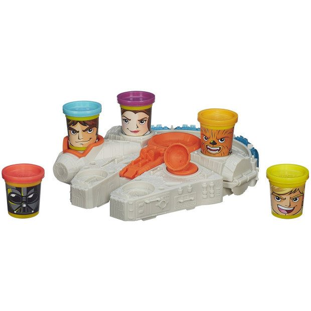Play-Doh Star Wars Millennium Falcon Featuring Can-Heads Just $9.94 Down From $19.96 At Walmart!