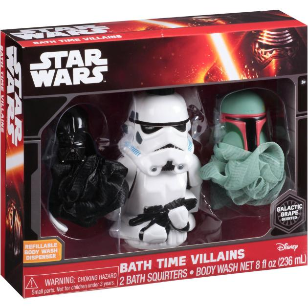 Disney Star Wars Galactic Grape Scented Bath Time Villains Gift Set Just $4.00! Down From $9.88!