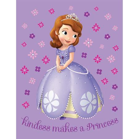 "Disney Sofia the First 46"" x 60"" Throw Just $19.50! Down From $45.00!"