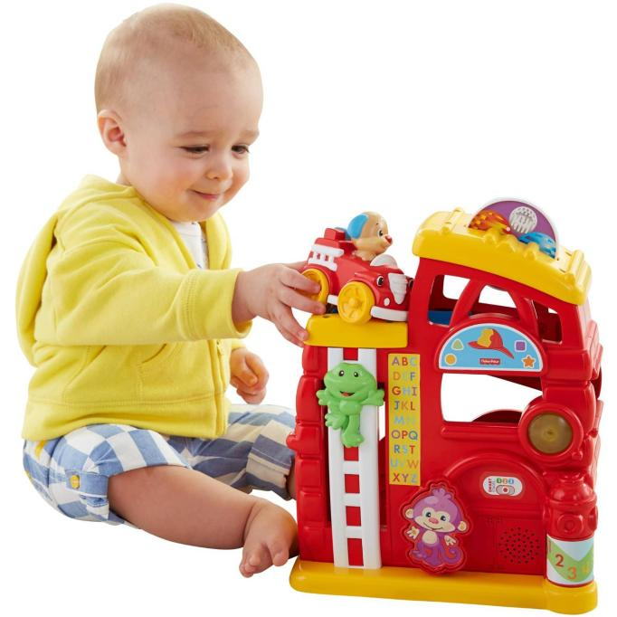 Fisher-Price Laugh & Learn Monkey's Smart Stages Firehouse Just $11.84 Down From $24.80 At Walmart!