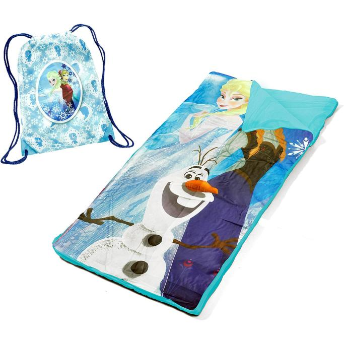 Disney Frozen Sling Bag Slumber Set Nap Mat Just $9.98! Down From $29.98!