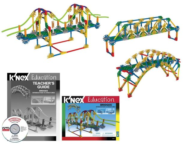K'NEX Education - Intro to Structures: Bridges Was $40 Now Only $27.74!