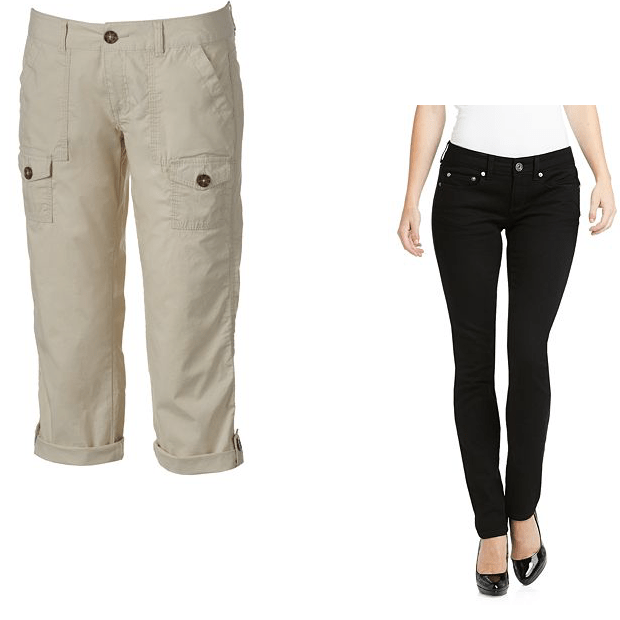 Jeans Plus Capris Only $20.28 For Both At Kohl's Online!