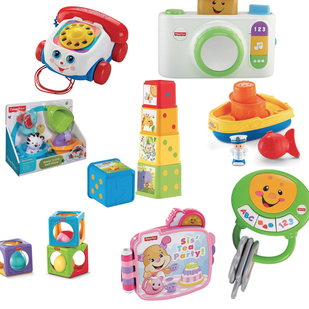 8 Fisher-Price Toys Only $50 Shipped + Earn $15 Kohl's Cash!