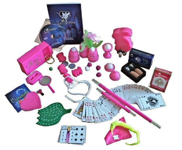 Lady Cadabra 200 Trick Pink Magician Set w/ Instructional DVD Only $24.99 (Reg. $50)