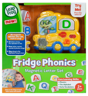 LeapFrog Fridge Phonics Magnetic Letter Set Just $11.29 Down From $20!
