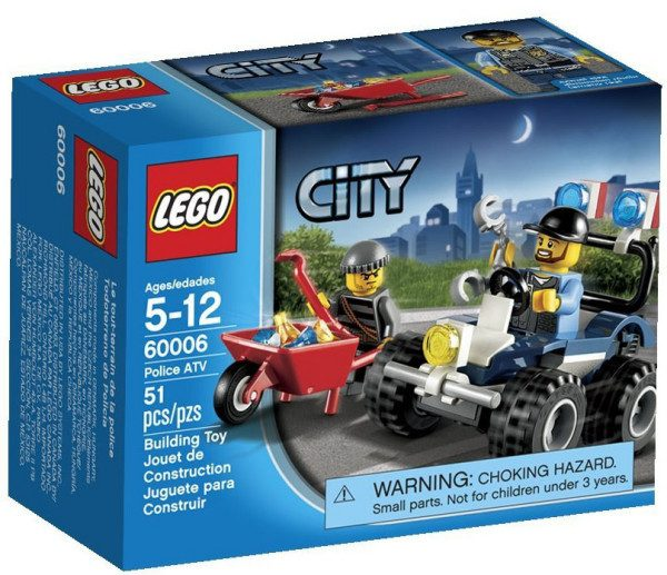 lego city police atv