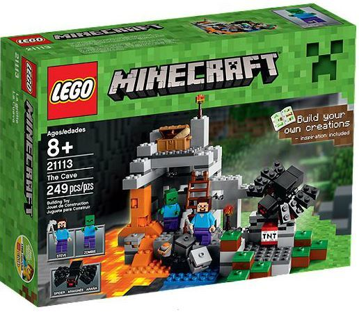 LEGO Minecraft The Cave Playset Just $15.99 - lowest price!