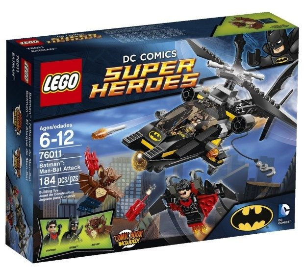 LEGO Superheroes Batman: Man-Bat Attack Just $15.94!