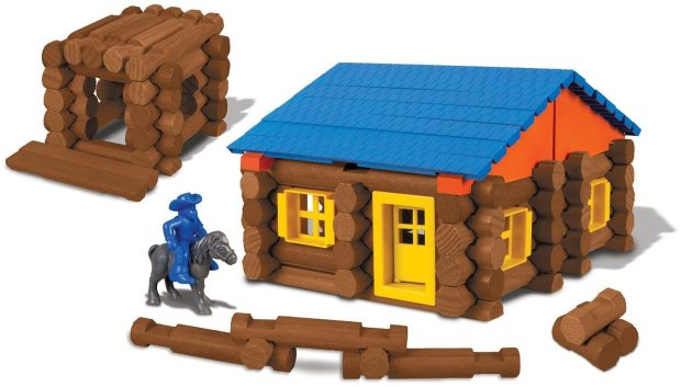 Lincoln Logs Oak Creek Lodge Building Set Just $24.43!  (Reg. 40!)