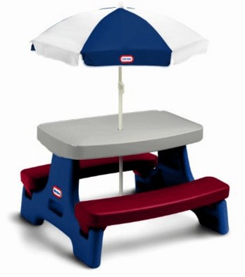 Little Tikes Easy Store Jr. Play Table with Umbrella Just $69!