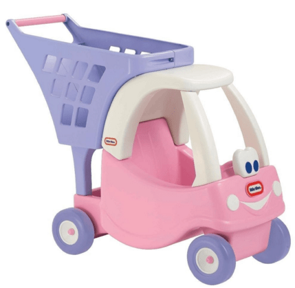 Little Tikes Cozy Shopping Cart Pink/Purple Just $25.12 Down From $41!