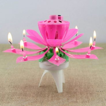 Lotus Birthday Sparkler Candle Just $1.99! Ships FREE!