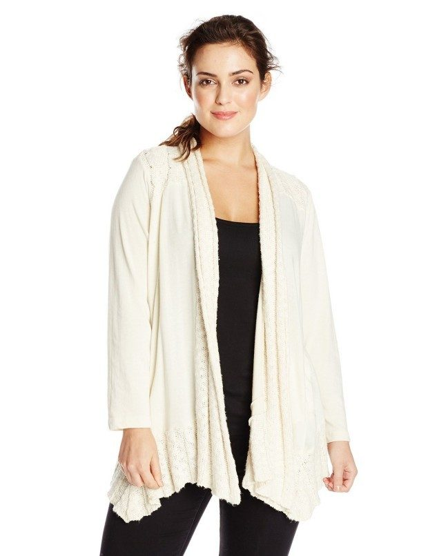 Lucky Brand Women's Plus-Size Sweater Wrap Only $19.97! (Reg. $99)