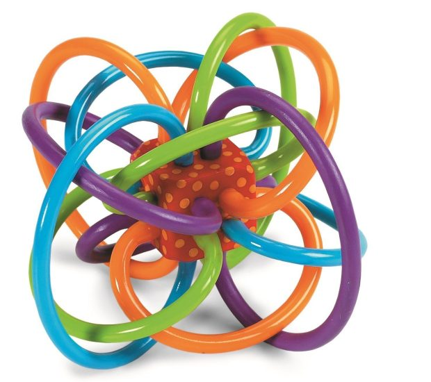 Manhattan Toy Winkel Rattle and Sensory Teether Activity Toy Only $7.59!