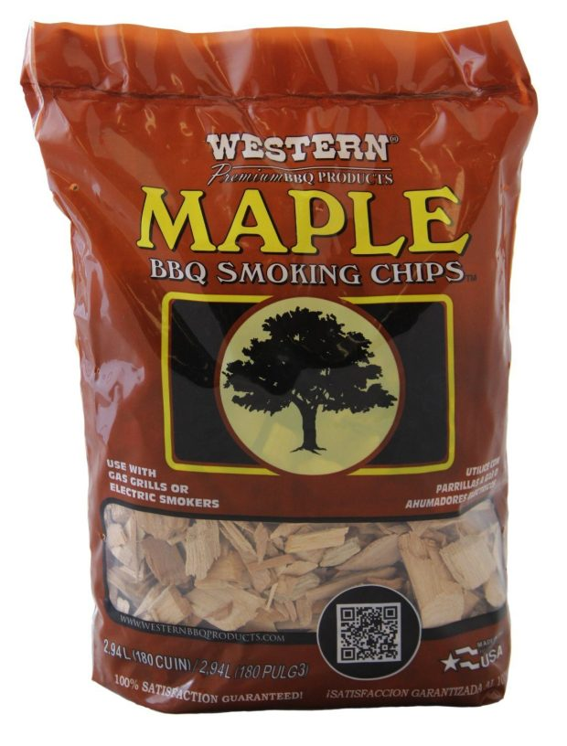 WESTERN Maple BBQ Smoking Chips Just $11.25!